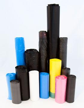 Полиэтиленовые мешки для мусора